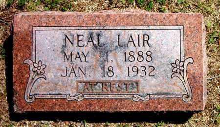 LAIR, NEAL - Boone County, Arkansas   NEAL LAIR - Arkansas Gravestone Photos