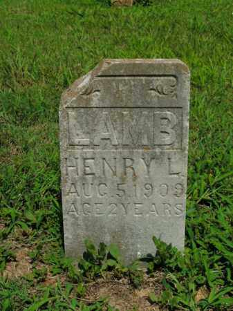 LAMB, HENRY L. - Boone County, Arkansas | HENRY L. LAMB - Arkansas Gravestone Photos