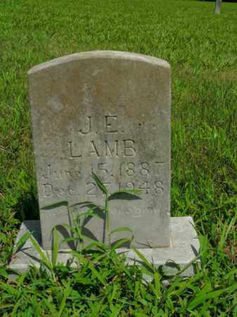 LAMB, J. E. - Boone County, Arkansas   J. E. LAMB - Arkansas Gravestone Photos