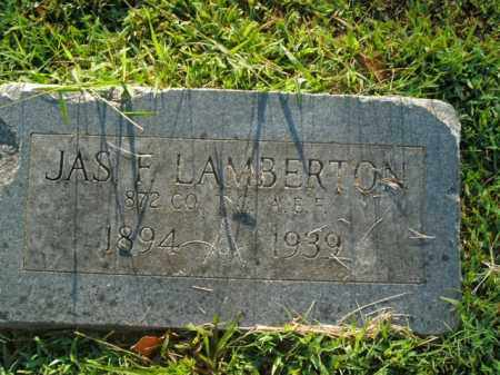 LAMBERTON  (VETERAN), JAMES F - Boone County, Arkansas | JAMES F LAMBERTON  (VETERAN) - Arkansas Gravestone Photos