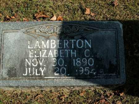 LAMBERTON, ELIZABETH C. - Boone County, Arkansas | ELIZABETH C. LAMBERTON - Arkansas Gravestone Photos