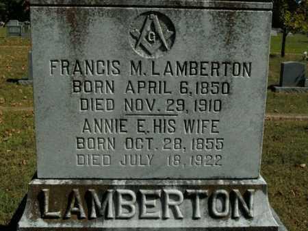 LAMBERTON, ANNIE E. - Boone County, Arkansas | ANNIE E. LAMBERTON - Arkansas Gravestone Photos