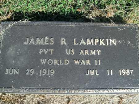 LAMPKIN  (VETERAN WWII), JAMES R - Boone County, Arkansas | JAMES R LAMPKIN  (VETERAN WWII) - Arkansas Gravestone Photos