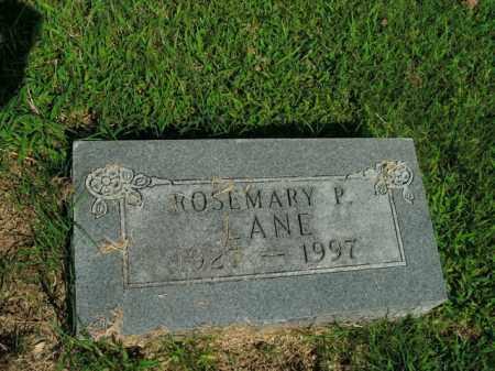 LANE, ROSEMARY P. - Boone County, Arkansas   ROSEMARY P. LANE - Arkansas Gravestone Photos