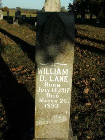 LANE, WILLIAM D. - Boone County, Arkansas   WILLIAM D. LANE - Arkansas Gravestone Photos