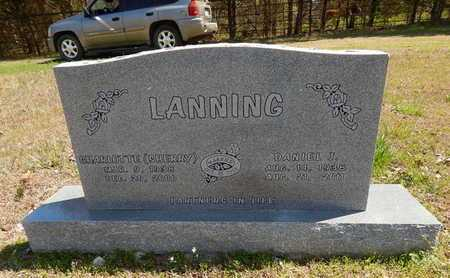LANNING, CHARLOTTE  R. (SHERRY) - Boone County, Arkansas   CHARLOTTE  R. (SHERRY) LANNING - Arkansas Gravestone Photos