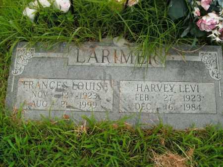 LARIMER, HARVEY LEVI - Boone County, Arkansas   HARVEY LEVI LARIMER - Arkansas Gravestone Photos