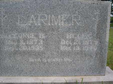LARIMER, BELLE - Boone County, Arkansas | BELLE LARIMER - Arkansas Gravestone Photos