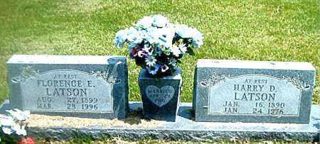 LATSON, FLORENCE  E. - Boone County, Arkansas | FLORENCE  E. LATSON - Arkansas Gravestone Photos