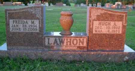LAWHON, FREIDA M. - Boone County, Arkansas   FREIDA M. LAWHON - Arkansas Gravestone Photos