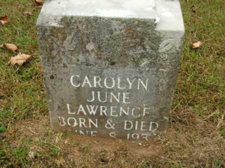 LAWRENCE, CAROLYN JUNE - Boone County, Arkansas | CAROLYN JUNE LAWRENCE - Arkansas Gravestone Photos