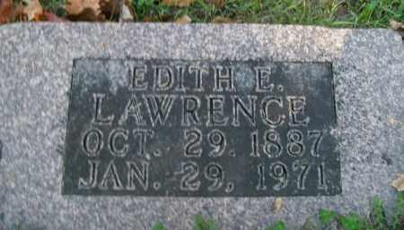 LAWRENCE, EDITH ELIZABETH - Boone County, Arkansas   EDITH ELIZABETH LAWRENCE - Arkansas Gravestone Photos