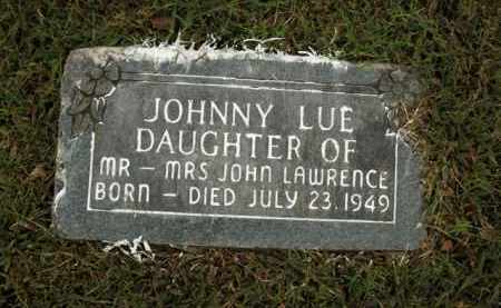 LAWRENCE, JOHNNY LUE - Boone County, Arkansas | JOHNNY LUE LAWRENCE - Arkansas Gravestone Photos