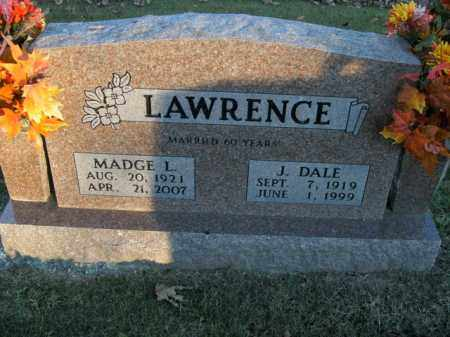 LAWRENCE, MADGE L. - Boone County, Arkansas | MADGE L. LAWRENCE - Arkansas Gravestone Photos