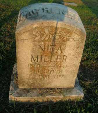 MILLER LAWRENCE, NITA - Boone County, Arkansas   NITA MILLER LAWRENCE - Arkansas Gravestone Photos