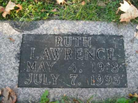 LAWRENCE, RUTH - Boone County, Arkansas | RUTH LAWRENCE - Arkansas Gravestone Photos
