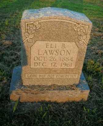 LAWSON, ELI B. - Boone County, Arkansas | ELI B. LAWSON - Arkansas Gravestone Photos