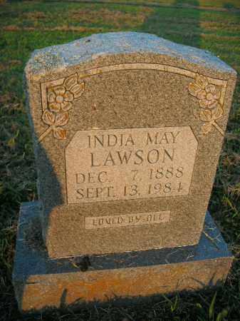 LAWSON, INDIA MAY - Boone County, Arkansas | INDIA MAY LAWSON - Arkansas Gravestone Photos