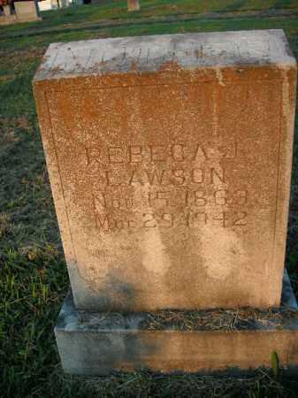 LAWSON, REBECA J. - Boone County, Arkansas | REBECA J. LAWSON - Arkansas Gravestone Photos