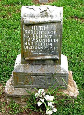 LAWSON, RUTH - Boone County, Arkansas | RUTH LAWSON - Arkansas Gravestone Photos