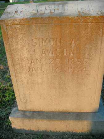 LAWSON, SIMON A. - Boone County, Arkansas | SIMON A. LAWSON - Arkansas Gravestone Photos