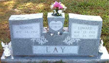 LAY, EDWARD - Boone County, Arkansas   EDWARD LAY - Arkansas Gravestone Photos