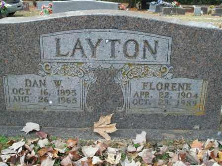 LAYTON, DAN WEBSTER - Boone County, Arkansas | DAN WEBSTER LAYTON - Arkansas Gravestone Photos