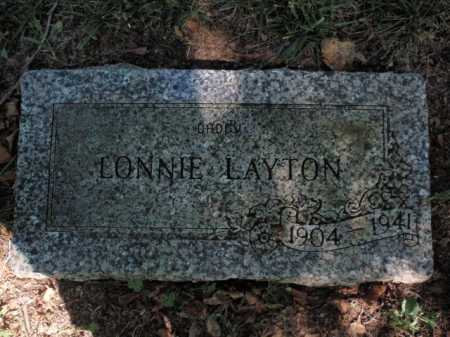 LAYTON, LONNIE - Boone County, Arkansas   LONNIE LAYTON - Arkansas Gravestone Photos