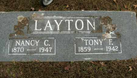 LAYTON, NANCY C. - Boone County, Arkansas | NANCY C. LAYTON - Arkansas Gravestone Photos