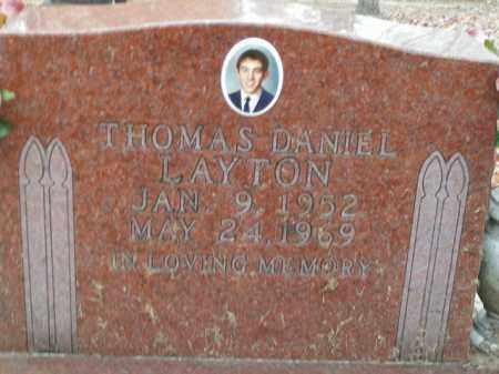 LAYTON, THOMAS DANIEL - Boone County, Arkansas | THOMAS DANIEL LAYTON - Arkansas Gravestone Photos