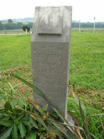 LAZARUS, REV. N.R. - Boone County, Arkansas   REV. N.R. LAZARUS - Arkansas Gravestone Photos