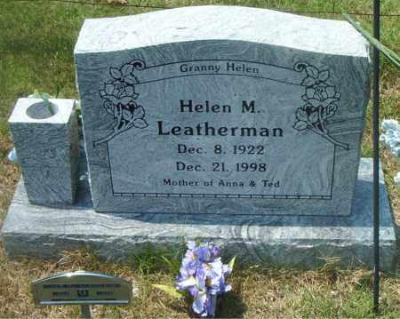 LEATHERMAN, HELEN  M. - Boone County, Arkansas | HELEN  M. LEATHERMAN - Arkansas Gravestone Photos