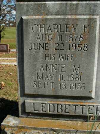 LEDBETTER, ANNIE M. - Boone County, Arkansas | ANNIE M. LEDBETTER - Arkansas Gravestone Photos