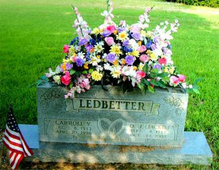 LEDBETTER, CARROLL V. - Boone County, Arkansas | CARROLL V. LEDBETTER - Arkansas Gravestone Photos