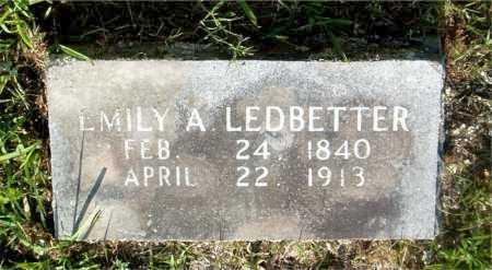 LEDBETTER, EMILY A. - Boone County, Arkansas   EMILY A. LEDBETTER - Arkansas Gravestone Photos