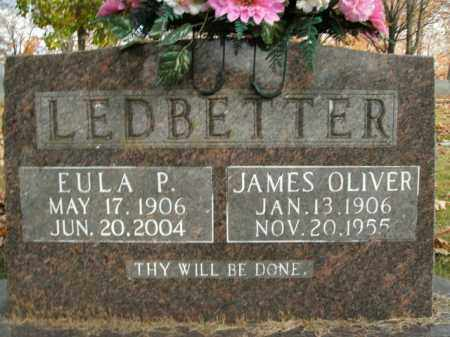 LEDBETTER, JAMES OLIVER - Boone County, Arkansas | JAMES OLIVER LEDBETTER - Arkansas Gravestone Photos