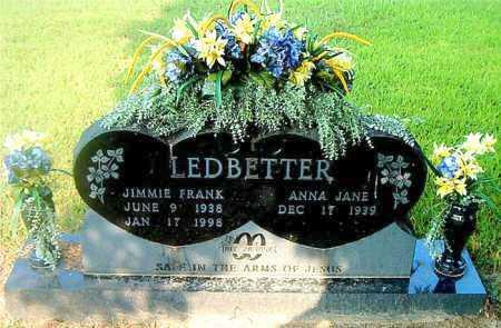 LEDBETTER, JIMMIE FRANK - Boone County, Arkansas | JIMMIE FRANK LEDBETTER - Arkansas Gravestone Photos