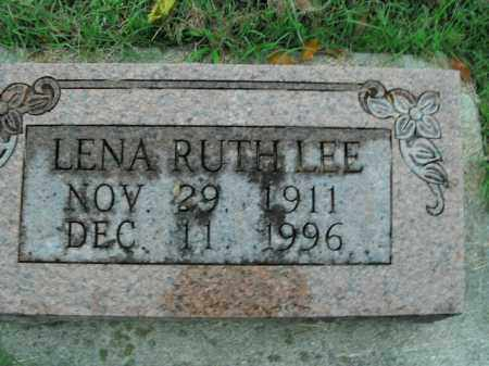 LEE, LENA RUTH - Boone County, Arkansas | LENA RUTH LEE - Arkansas Gravestone Photos