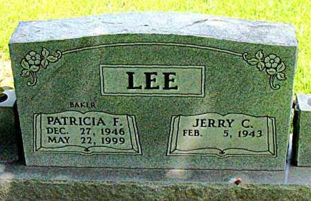 LEE, PATRICIA F. - Boone County, Arkansas | PATRICIA F. LEE - Arkansas Gravestone Photos