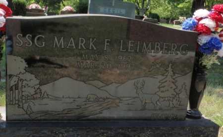 LEIMBERG, MARK F. - Boone County, Arkansas   MARK F. LEIMBERG - Arkansas Gravestone Photos