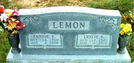LEMON, LESLIE  R - Boone County, Arkansas   LESLIE  R LEMON - Arkansas Gravestone Photos