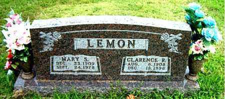 LEMON, CLARENCE R. - Boone County, Arkansas | CLARENCE R. LEMON - Arkansas Gravestone Photos