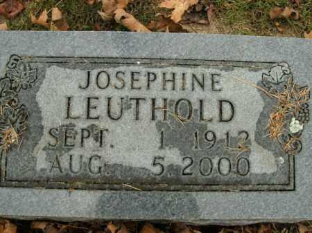 LEUTHOLD, JOSEPHINE - Boone County, Arkansas | JOSEPHINE LEUTHOLD - Arkansas Gravestone Photos