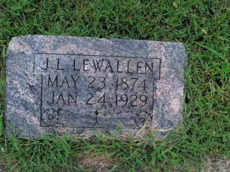LEWALLEN, J.L. - Boone County, Arkansas | J.L. LEWALLEN - Arkansas Gravestone Photos