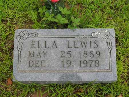 LEWIS, ELLA - Boone County, Arkansas   ELLA LEWIS - Arkansas Gravestone Photos