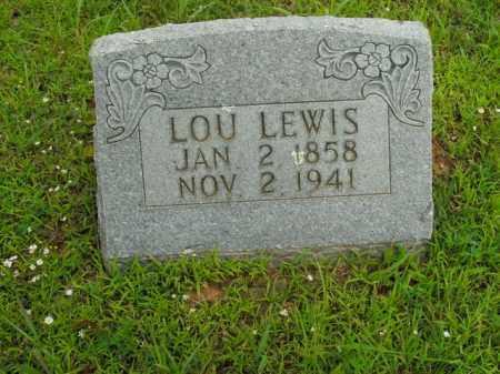 LEWIS, LOU - Boone County, Arkansas | LOU LEWIS - Arkansas Gravestone Photos