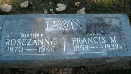 BOOTHE LEWIS, ROSEZANNIE - Boone County, Arkansas | ROSEZANNIE BOOTHE LEWIS - Arkansas Gravestone Photos