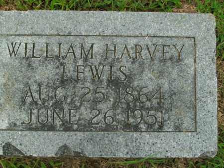 LEWIS, WILLIAM HARVEY - Boone County, Arkansas   WILLIAM HARVEY LEWIS - Arkansas Gravestone Photos