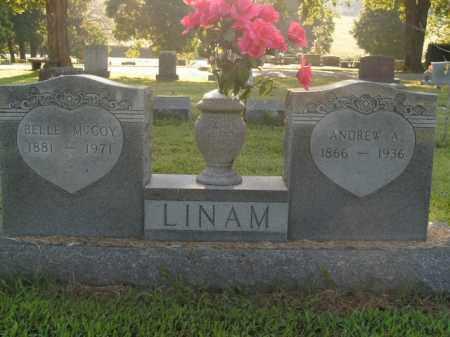 LINAM, ANDREW A. - Boone County, Arkansas | ANDREW A. LINAM - Arkansas Gravestone Photos