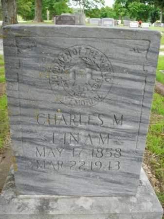 LINAM, CHARLES M. - Boone County, Arkansas   CHARLES M. LINAM - Arkansas Gravestone Photos